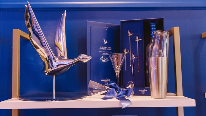 This Grey Goose limited-edition gift pack includes the signature bottle, two bespoke stirrers and two olive picks — making you martini-ready for the holiday season. ($40)
