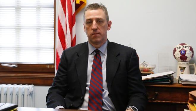 Tompkins County District Attorney Matthew Van Houten.