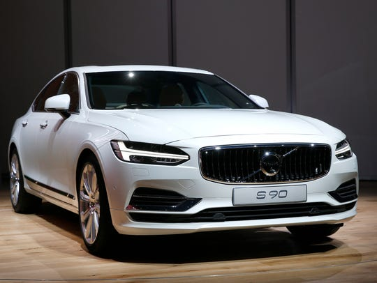The Volvo S90 debuts at the North American International