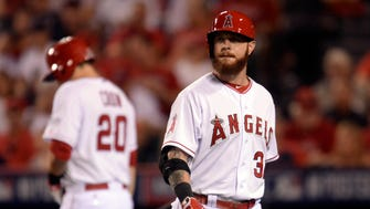 Josh Hamilton played in just 240 games with the Angels after signing a $125 million contract.