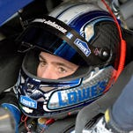 Jimmie Johnson won his third pole position of the season, at Phoenix International Raceway.