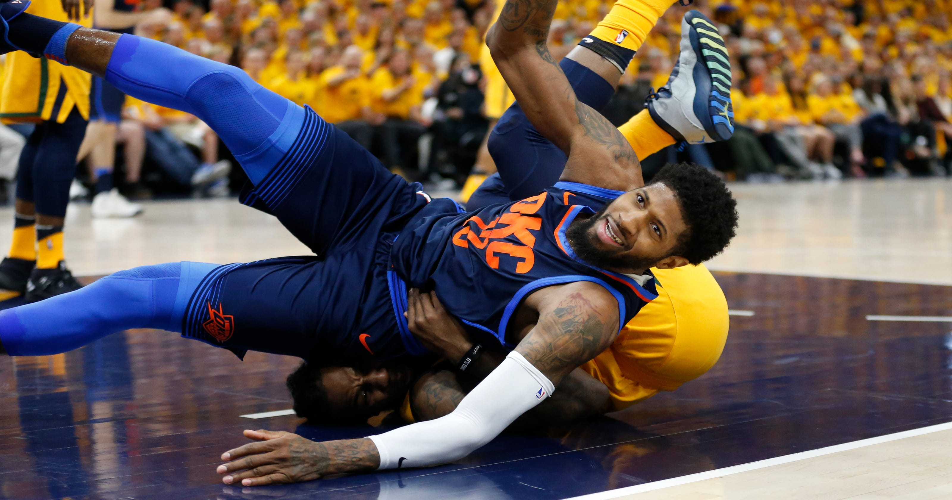 45245e41acc Paul George is trying to do to Oklahoma City what he did to Indiana