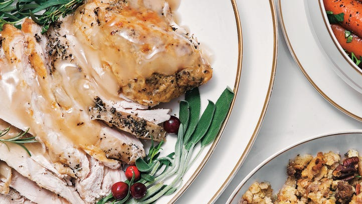 One-oven strategy: Make-ahead dishes, other appliances help pull Thanksgiving meal together