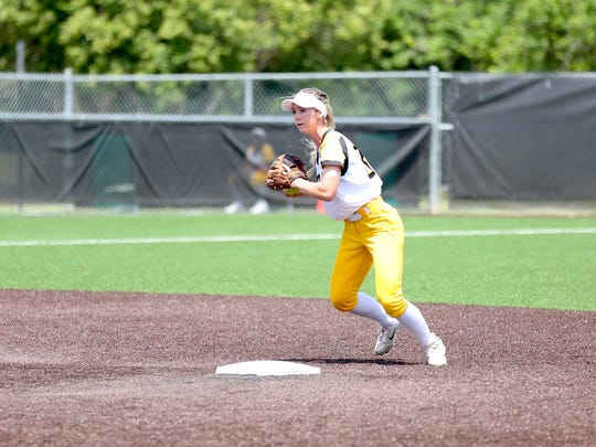 Texas Lutheran infielder and Gregory-Portland grad Cassie Roche helped it to another Southern Collegiate Athletic Conference title this year.