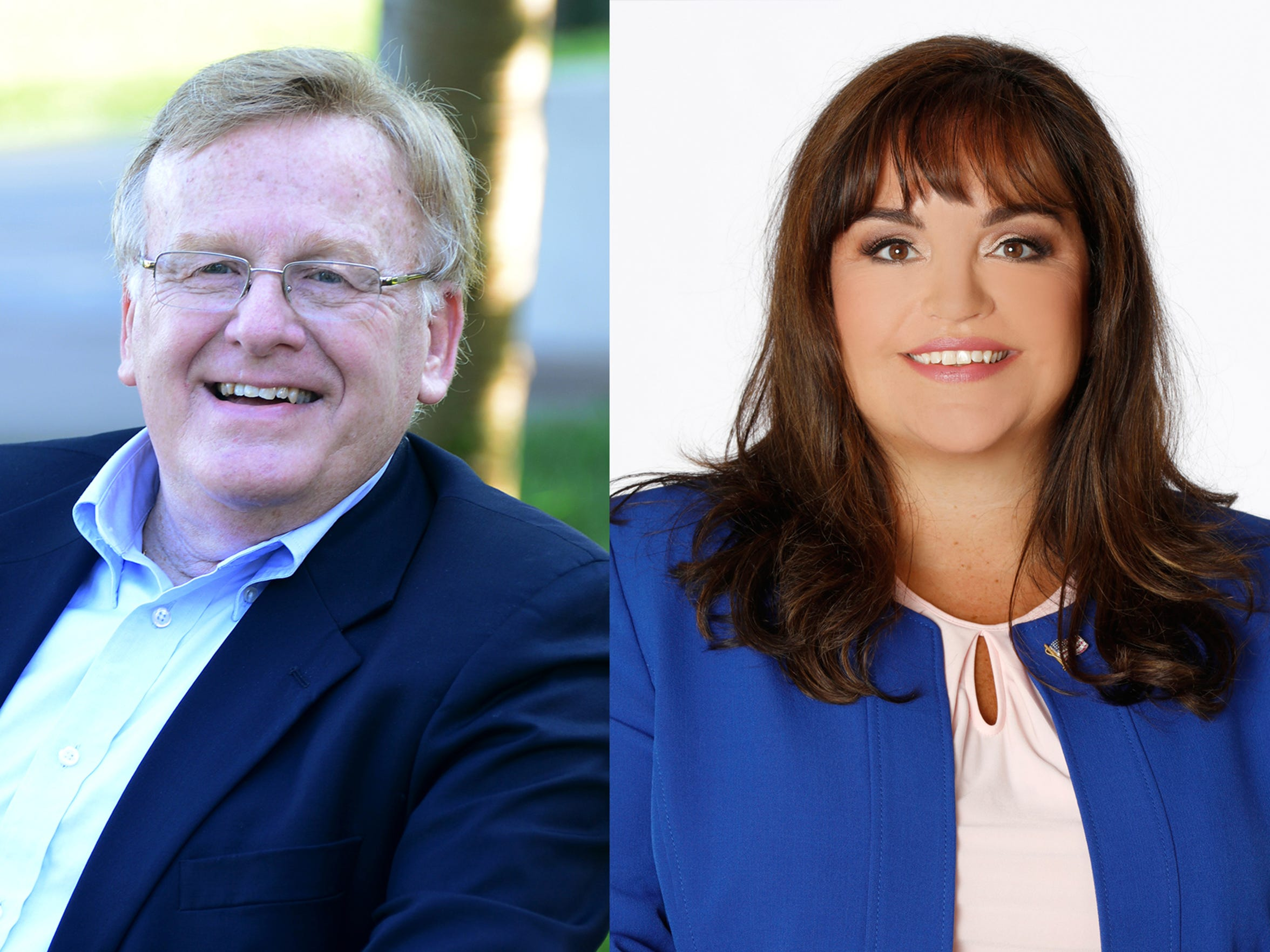 Ken McClure and Kristi Fulnecky are running for mayor.