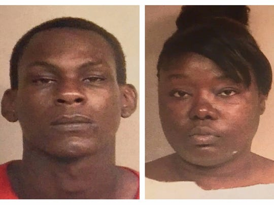 Kendrick Jackson, 26, and Lakia Bradley, 35, are charged with aggravated assault and shooting into an occupied vehicle. Richard Kyles, 8, was hit in the back of the head.