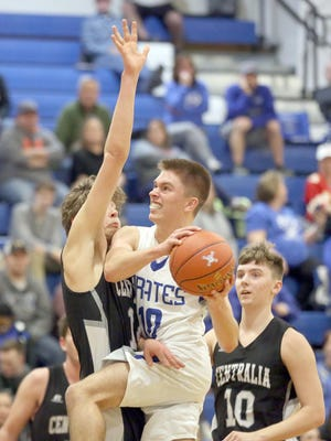 Boonville junior Luke Green is the first athlete at Boonville High School to contract COVID-19 but is back to playing football and basketball after getting a release from his doctor.