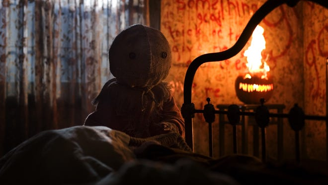 "Sam is the devious little spirit of Halloween at the center of the interwoven tales of ""Trick 'r Treat."""