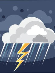 Severe Weather Storm Icon