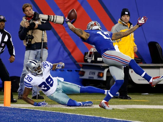 NFL: Dallas Cowboys at New York Giants