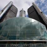General Motors' world headquarters in Detroit.