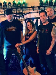 The Rail in the Whitehouse Station section of Readington will host a New Year's Eve party with Little Nikki's Radio, pictured.