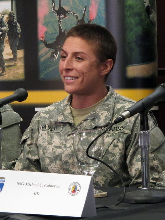 Female Ranger students refused to give up