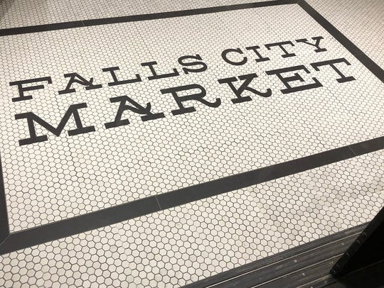 "Falls City Market is an ""urban lifestyle"" market in the Omni Hotel."