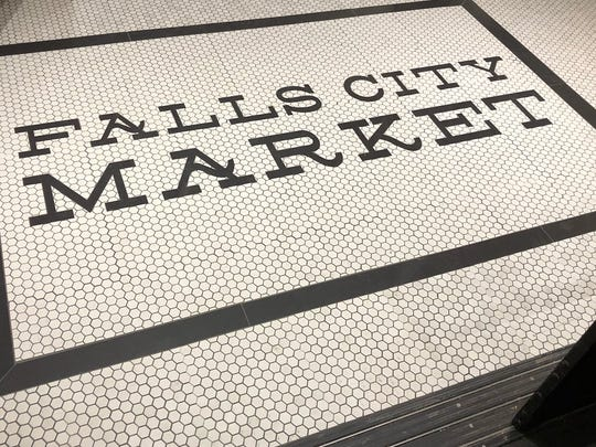 "Falls City Market, an ""urban lifestyle"" market, will"