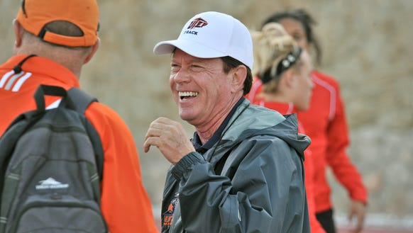 Former UTEP track and field coach Bob Kitchens has