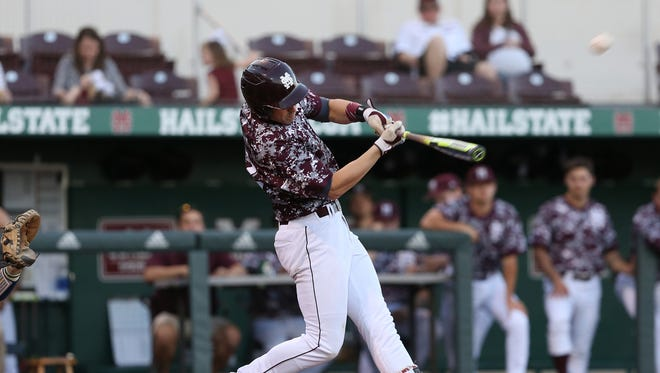 Mississippi State junior Reid Humphreys has helped the program's hitting and pitching this season.