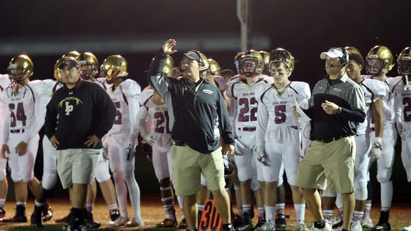 Iona defeated Stepinac 38-34 during football action
