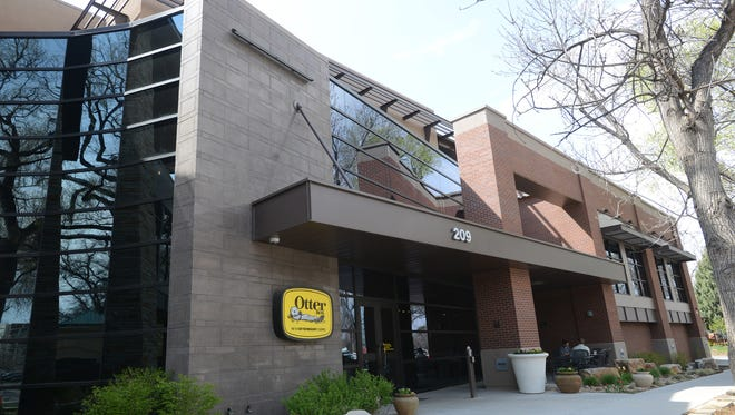 The OtterBox headquarters building in Fort Collins is seen in this file photo.