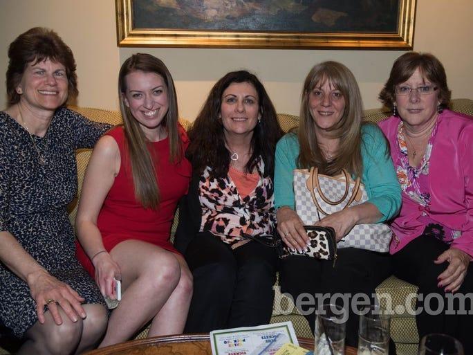 Christine Bregel, Adrianne Lastfogel, Linda Bennett, Carol Marino and Lynn Tomkins (Photo by Jeremy Smith)