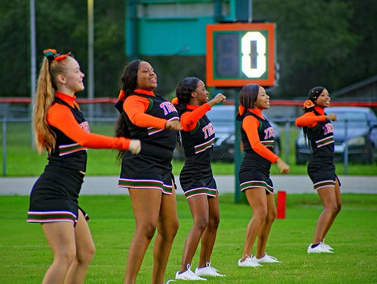 Scenes from Dunbar High as the Tigers took on Charlotte