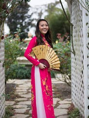 Lily Nguyen, a contestant for Miss Vietnam Florida