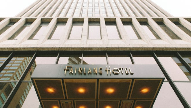 The 81-room boutique Fairlane Hotel opened Thursday in downtown Nashville.