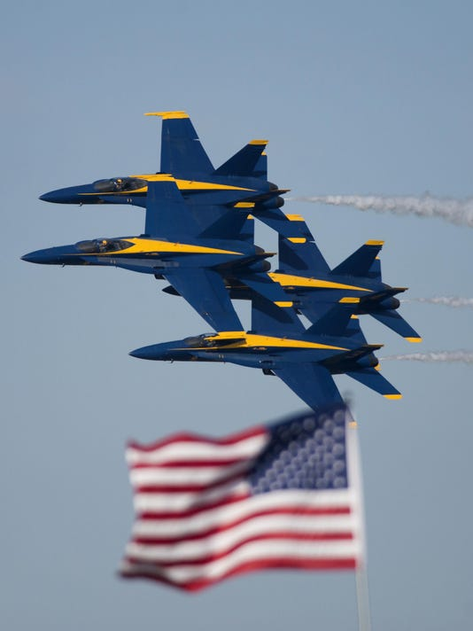 2015 Blue Angels Homecoming Airshow