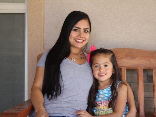 Geraldine Navarrette said she and her daughter Brook'Lynn have formed a close bond following Brook'Lynn's premature birth.