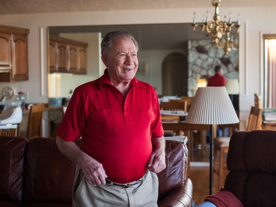 Sark Arslanian, who led Dixie College football to its lone unblemished season in 1963, vividly recalls his service in the military during WWII.