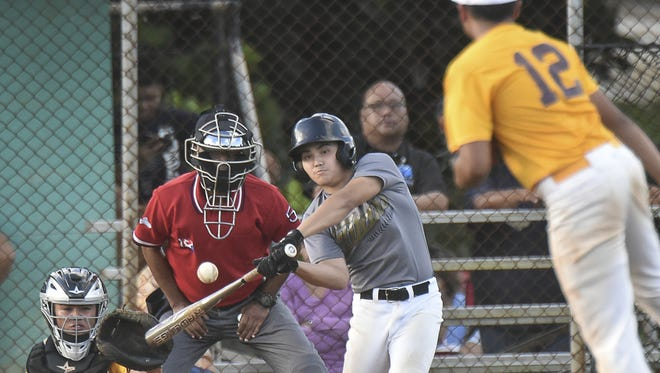 The Tiyan Titans battled the Father Duenas Friars in an Independent Interscholastic Athletic Association of Guam Boys' Baseball League match at Chalan Pago Field on Nov. 25.