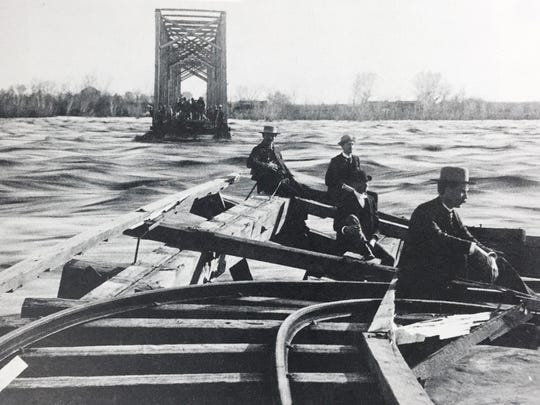 When the Salt River went on a rampage in February 1891, washing out the railroad bridge at Tempe and leaving many people homeless, The Arizona Republic gave the event extensive news coverage.