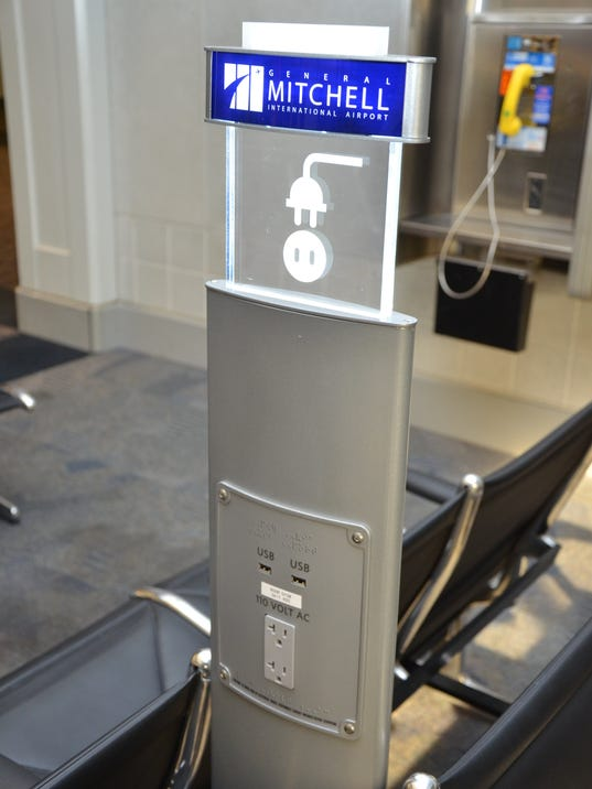 Airports Add Outlets To Serve Power Parched Passengers