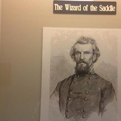 "A picture of Gen. Nathan Bedford Forrest, ""The Wizard"