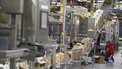 P&G's fabric care plant in Lima, Ohio.