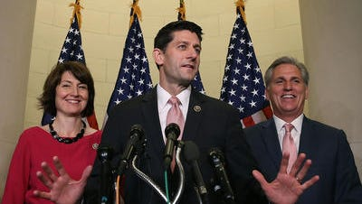 Rep. Paul Ryan was elected the Speaker of the House Thursday.