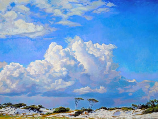 Charlie Buckley Clouds and beach.jpg