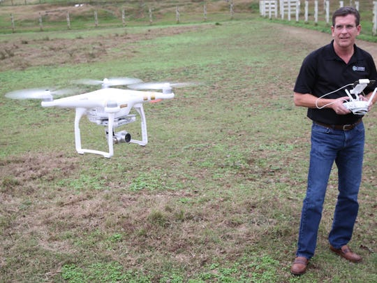 A drone provides a great site overview of a new Williamson