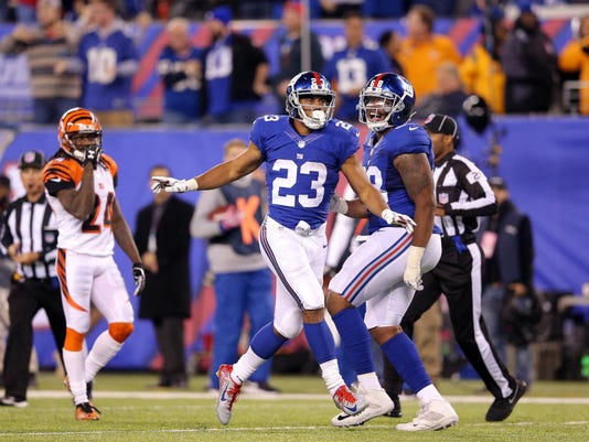 NFL: Cincinnati Bengals at New York Giants
