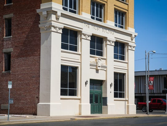 A vacant building at 30 S. Chadbourne in downtown San