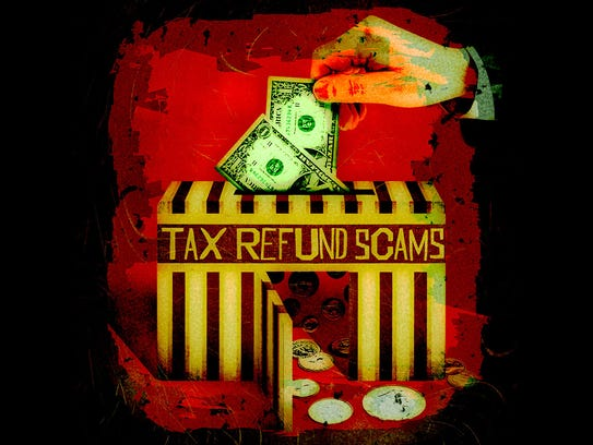 Tax refund scams