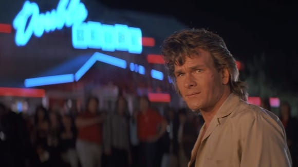 Road House Patrick Swayze Screengrab From Youtube