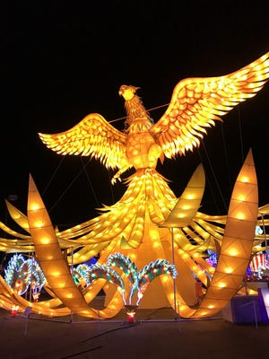Lights of the World at Chandler's Rawhide continues through Jan. 29.