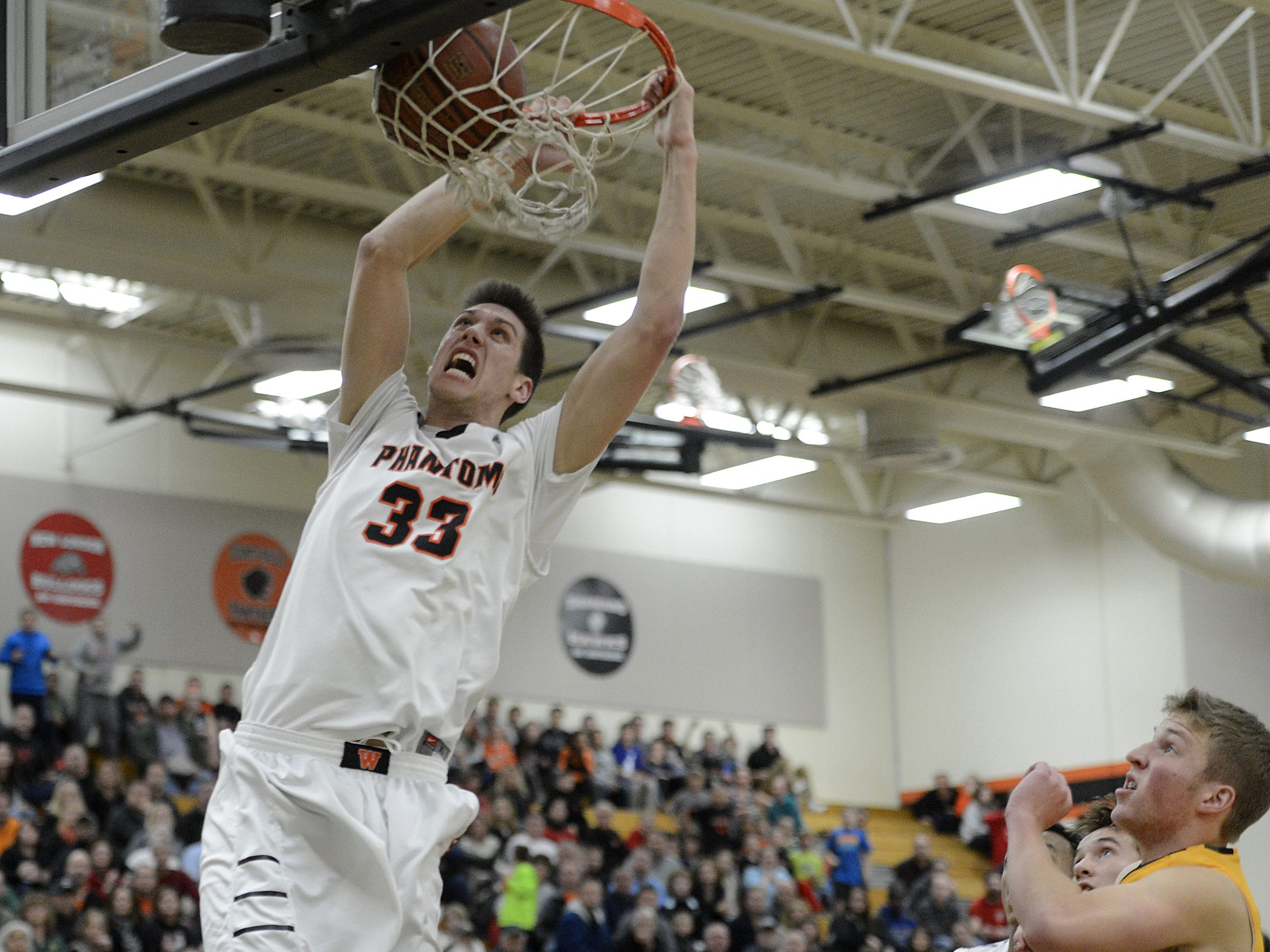 Cody Schwartz led the West De Pere boys basketball team to the WIAA Division 2 state tournament for a second straight year.