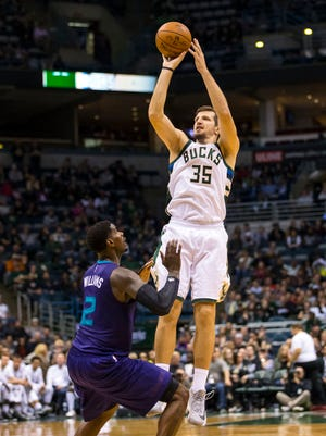 Mirza Teletovic's three-point numbers fell off last season, his first with the Bucks.