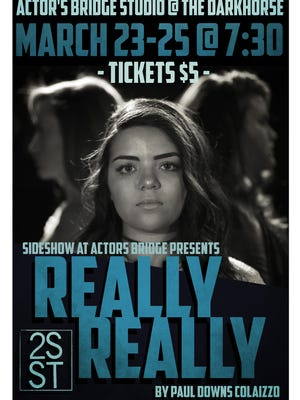 """Sarah Johnson featured in the poster for """"Really Really."""""""