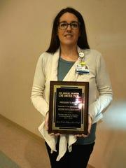 Shanna Thomas-President's Award to Methodist Hospital