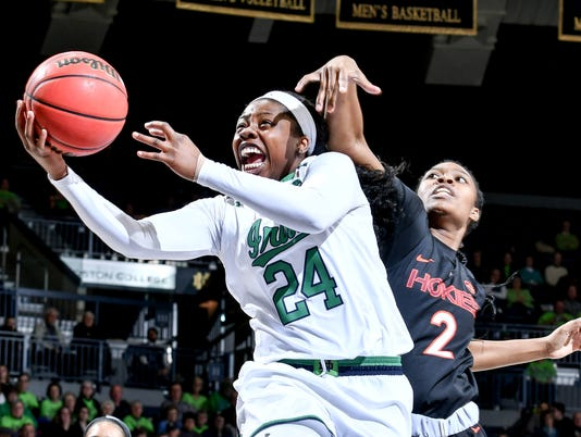 NCAA Womens Basketball: Virginia Tech at Notre Dame