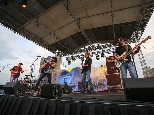 Jason Pritchett and the Steel Horses performed at PFI's