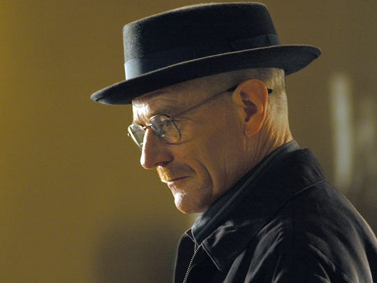 Walter White, played by Bryan Cranston, in 'Breaking